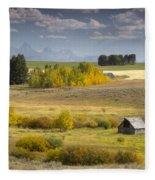 Teton Valley Fleece Blanket