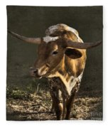 Texas Longhorn # 4 Fleece Blanket