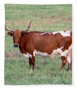 Texas Longhorn Fleece Blanket
