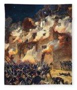 Texas: The Alamo, 1836 Fleece Blanket