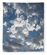 Textured Skies Fleece Blanket