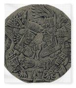 Tezcatlipoca And Huitzilopochtli Fleece Blanket