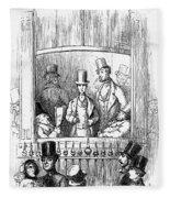Thackeray: Newcomes, 1855 Fleece Blanket