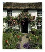 Thatched Cottage, Carlingford, Co Fleece Blanket