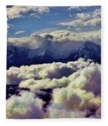 The Alaska Range Fleece Blanket