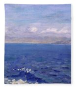 The Albanian Sea Fleece Blanket