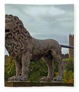 The Alnwick Lion Fleece Blanket