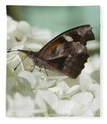 The American Snout - Libytheana Carinenta Fleece Blanket