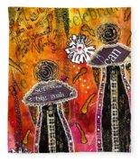 The Angelic Sistahs Fleece Blanket