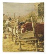 The Appian Way Fleece Blanket