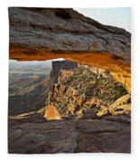 The Arch, Arches National Park, Moab Fleece Blanket