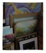 The Artists Studio Fleece Blanket