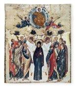 The Ascension Fleece Blanket