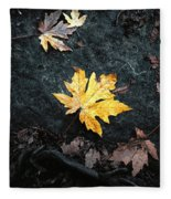 The Autumn Leaf Fleece Blanket