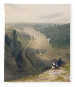 The Avon Gorge - Looking Over Clifton Fleece Blanket