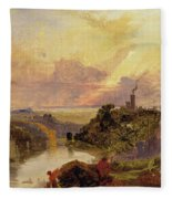 The Avon Gorge At Sunset  Fleece Blanket
