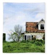 The Azaleas Still Grow Fleece Blanket