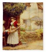 The Ballad Seller Fleece Blanket