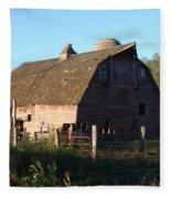 The Barn Iv Fleece Blanket