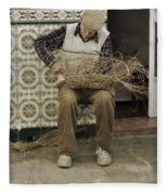 The Basket Maker Fleece Blanket
