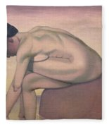 The Bather Fleece Blanket
