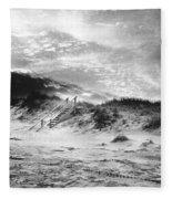 The Beach At Bridgehampton Fleece Blanket