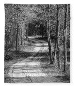 The Beaten Path Fleece Blanket