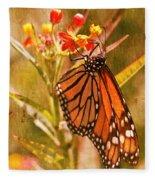 The Beauty Of A Butterfly Fleece Blanket