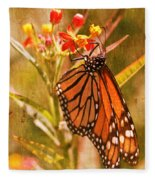 The Beauty Of A Butterfly Fleece Blanket