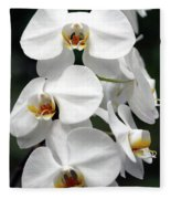 The Beauty Of Orchids  Fleece Blanket