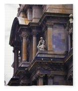 The Beauty Of Philadelphia City Hall Fleece Blanket