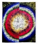 The Birth Of Circle Fleece Blanket