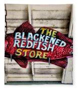 The Blackened Redfish Store Fleece Blanket