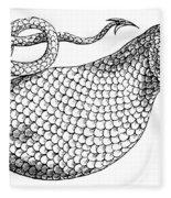 The Boas, 17th Century Fleece Blanket