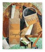 The Bottle Of Banyuls Fleece Blanket