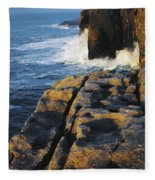 The Burren, Co Clare, Ireland Fleece Blanket