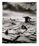 The Burren Fleece Blanket