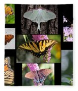 The Butterfly Collection Fleece Blanket