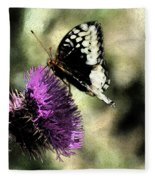 The Butterfly II Fleece Blanket