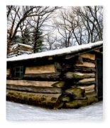 The Cabin In The Woods Fleece Blanket