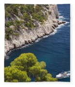 The Calanques Fleece Blanket