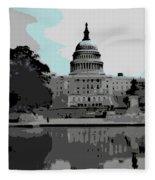the Capitol  Fleece Blanket