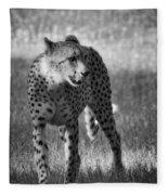 The Cheetah  Fleece Blanket