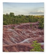 The Cheltenham Badlands Fleece Blanket