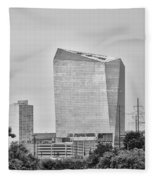 The Cira Center - Philadelphia Fleece Blanket