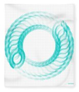 The Circle II Fleece Blanket