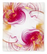 The Circle Of Love 1 Fleece Blanket