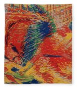 The City Rises Fleece Blanket