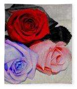 The Color Of My Love Fleece Blanket