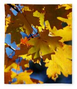 The Colors Of Autumn In Arizona  Fleece Blanket